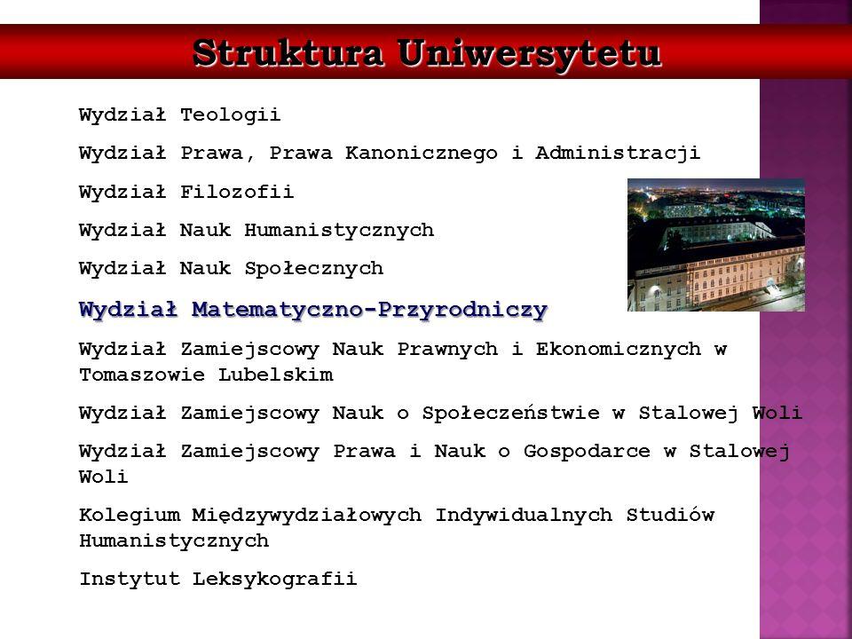 Struktura Uniwersytetu