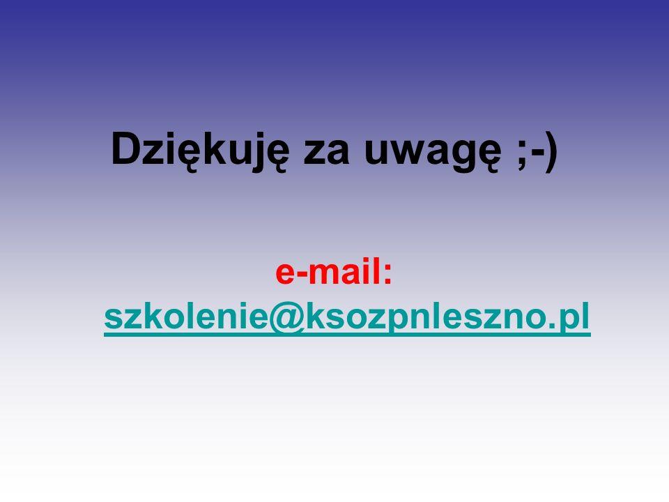 e-mail: szkolenie@ksozpnleszno.pl