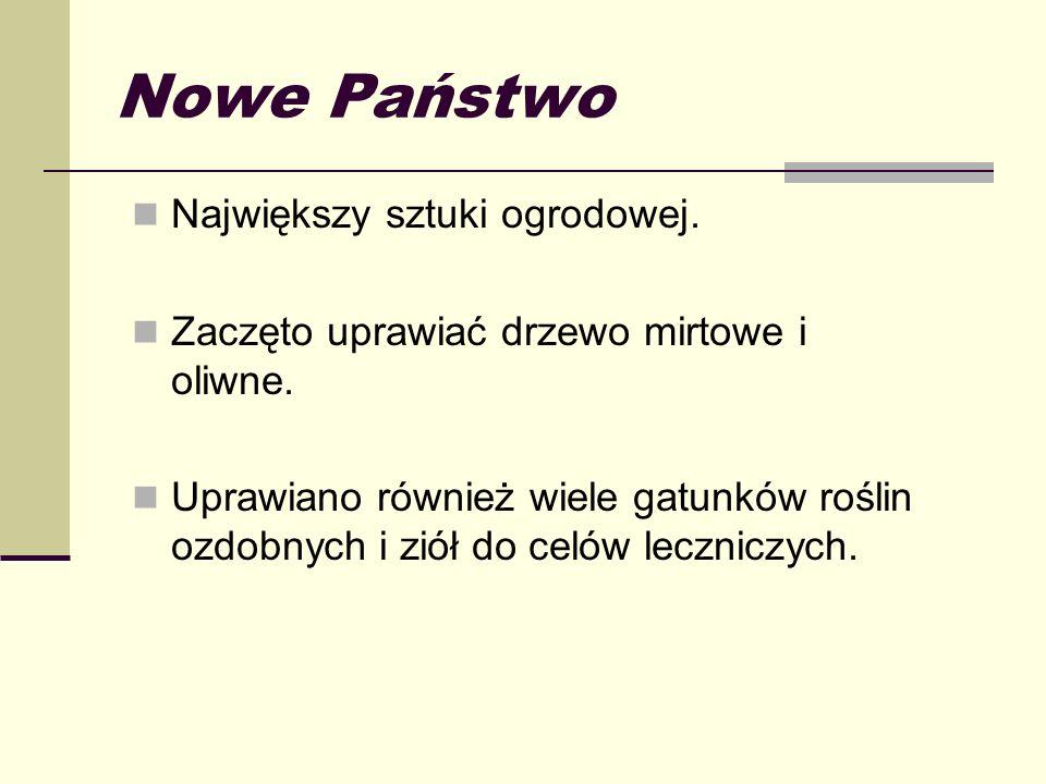 Nowe Państwo Największy sztuki ogrodowej.