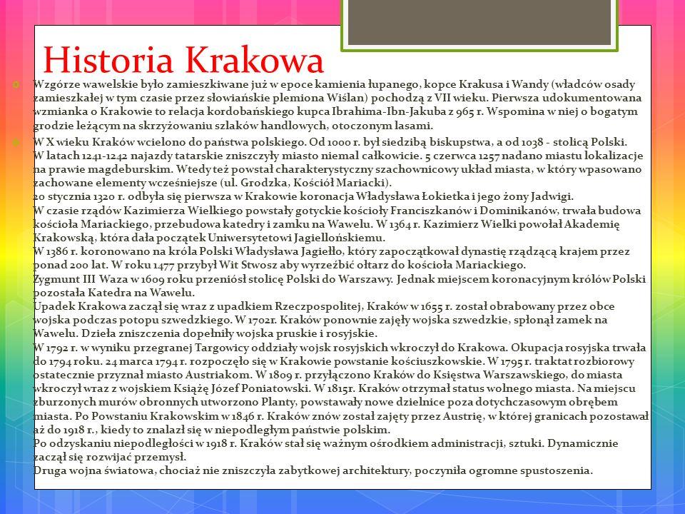 Historia Krakowa