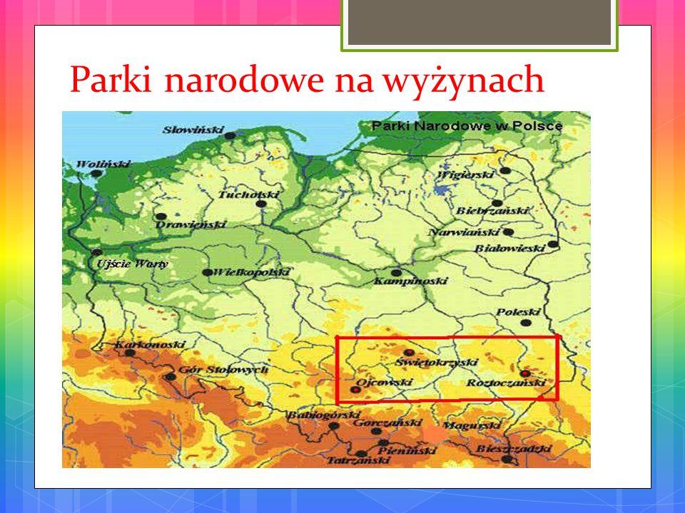 Parki narodowe na wyżynach