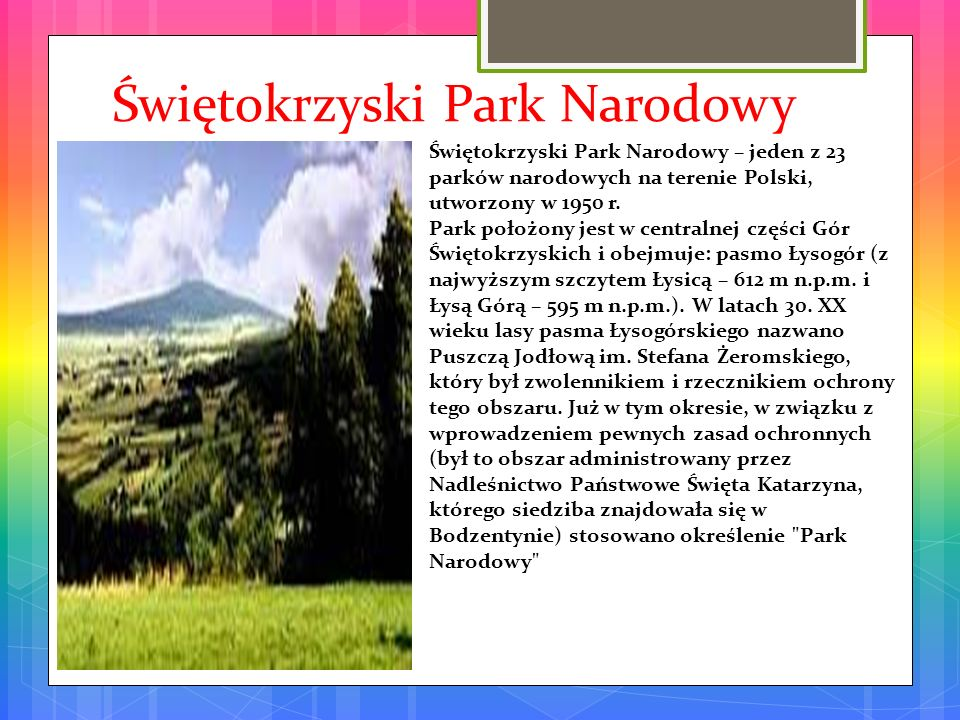 Świętokrzyski Park Narodowy