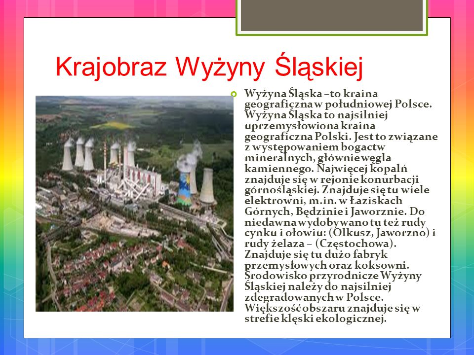 Krajobraz Wyżyny Śląskiej