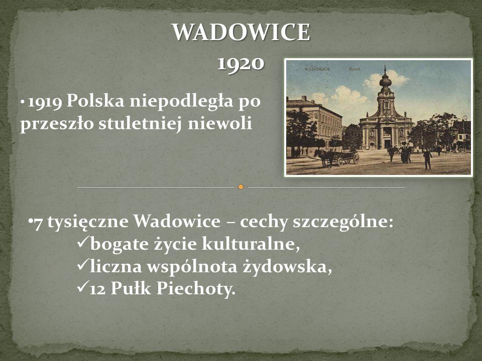 WADOWICE 1920 7 tysięczne Wadowice – cechy szczególne:
