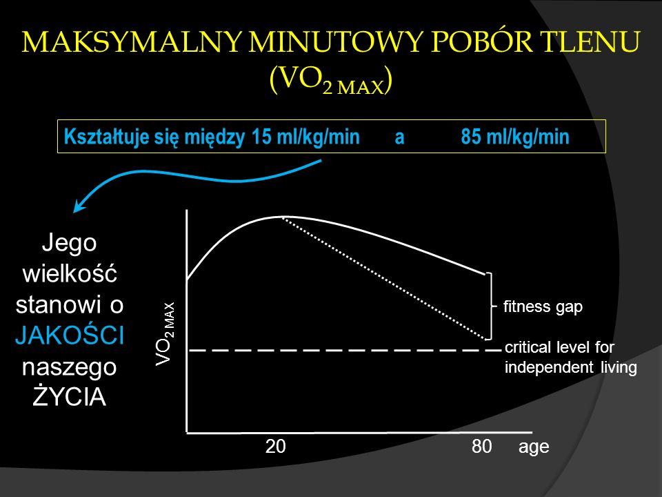 MAKSYMALNY MINUTOWY POBÓR TLENU (VO2 MAX)