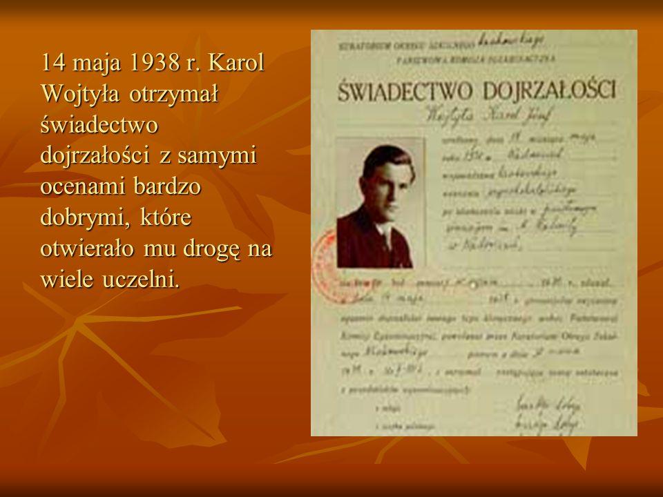 14 maja 1938 r.