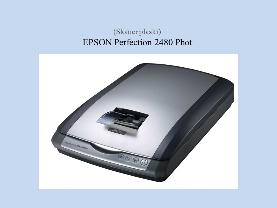 (Skaner płaski) EPSON Perfection 2480 Phot