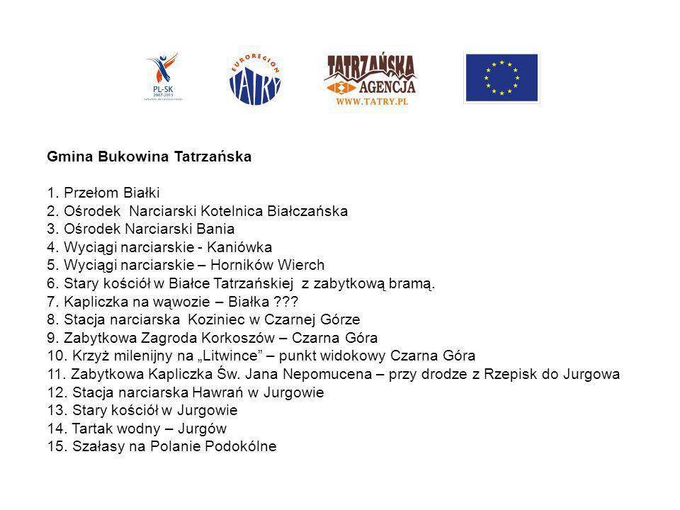 Gmina Bukowina Tatrzańska