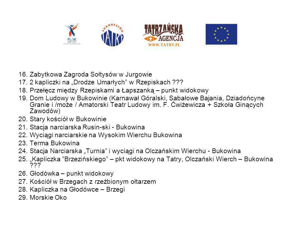 16. Zabytkowa Zagroda Sołtysów w Jurgowie