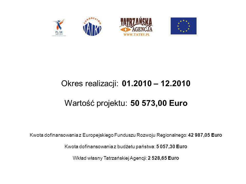 Wartość projektu: 50 573,00 Euro