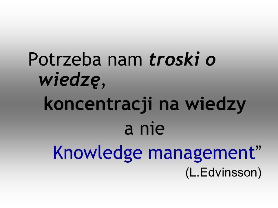 koncentracji na wiedzy