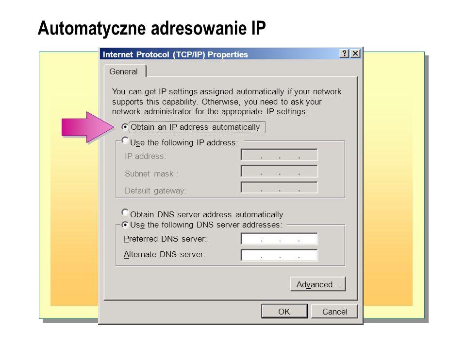Automatyczne adresowanie IP