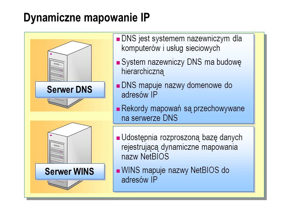 Dynamiczne mapowanie IP