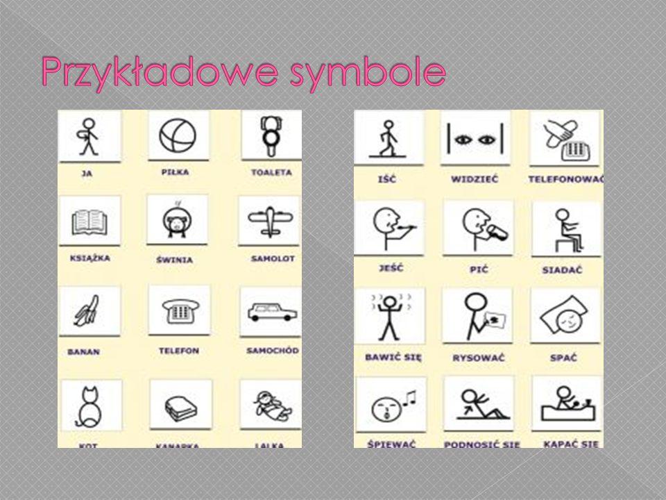 Przykładowe symbole