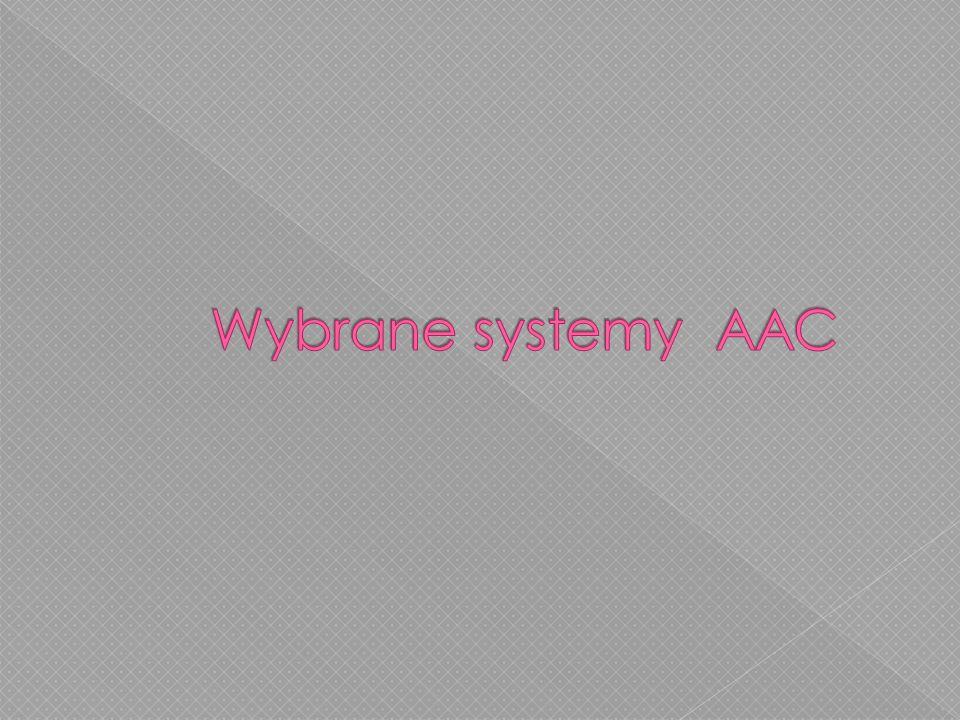 Wybrane systemy AAC