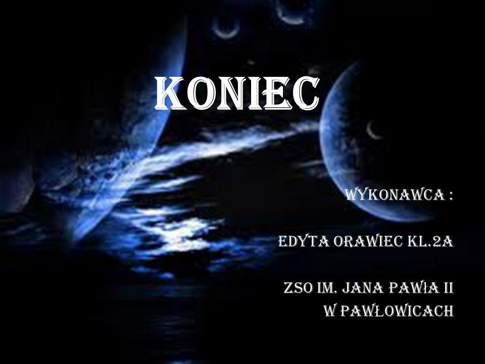 Wykonawca : EDYTA ORAWIEC kl.2a ZSO im. Jana Pawła II W PAWŁOWICACH