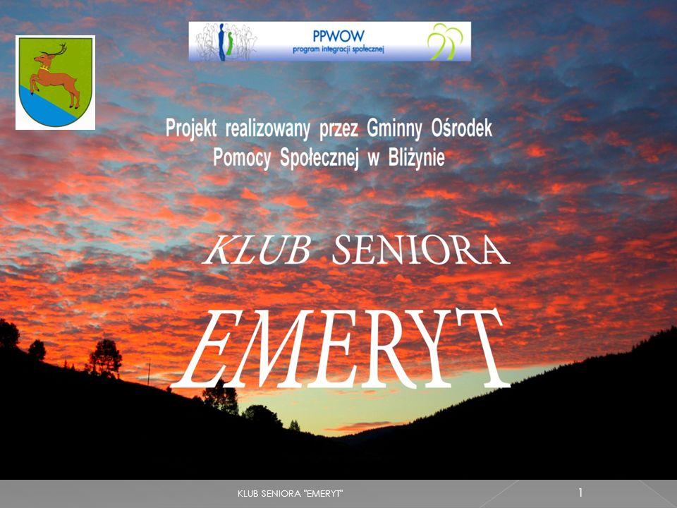 KLUB SENIORA EMERYT