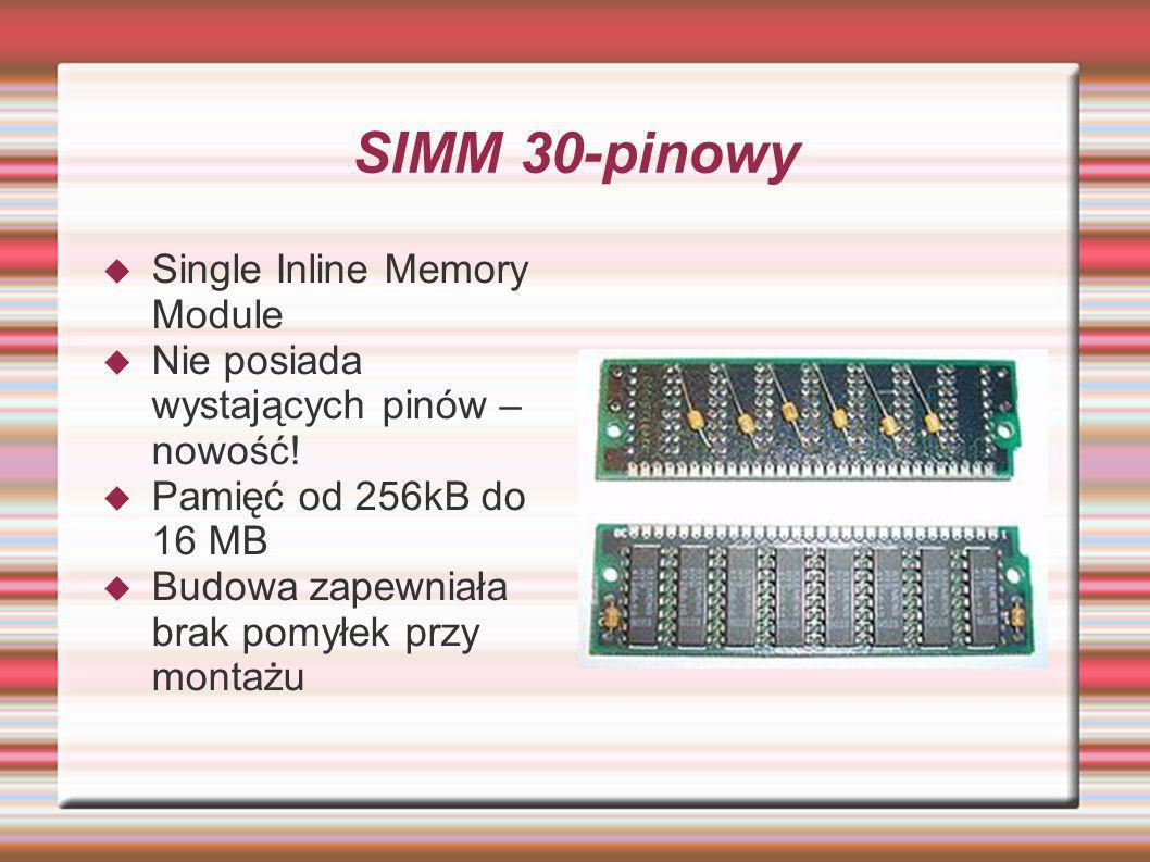 SIMM 30-pinowy Single Inline Memory Module