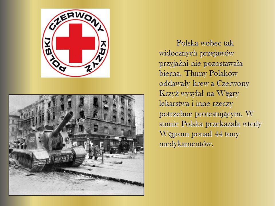 Polska wobec tak widocznych przejawów przyjaźni nie pozostawała bierna