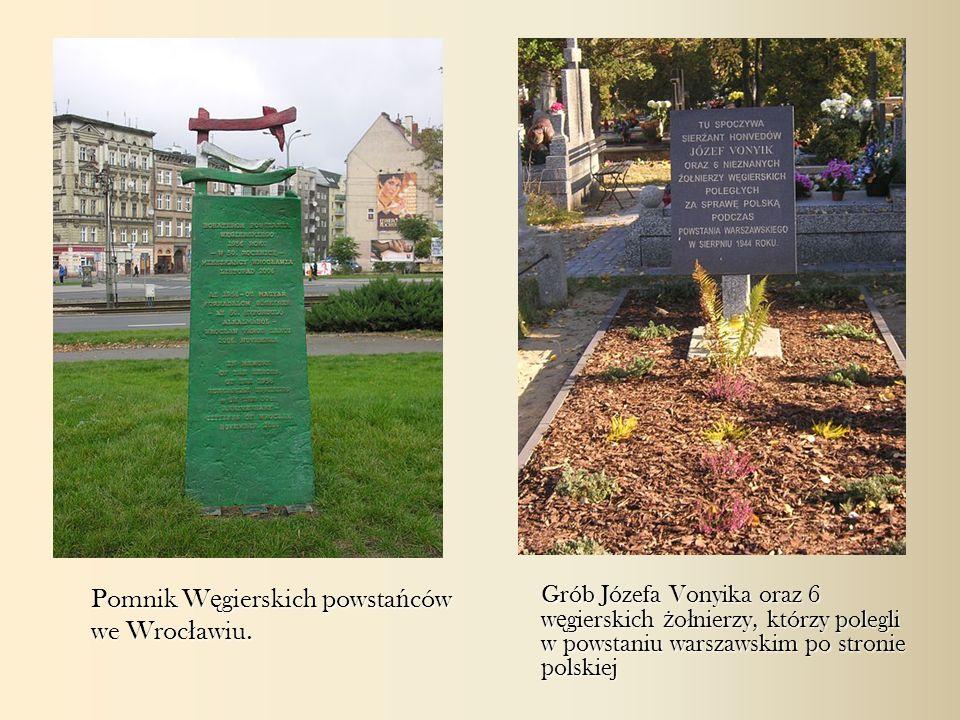 Pomnik Węgierskich powstańców we Wrocławiu.