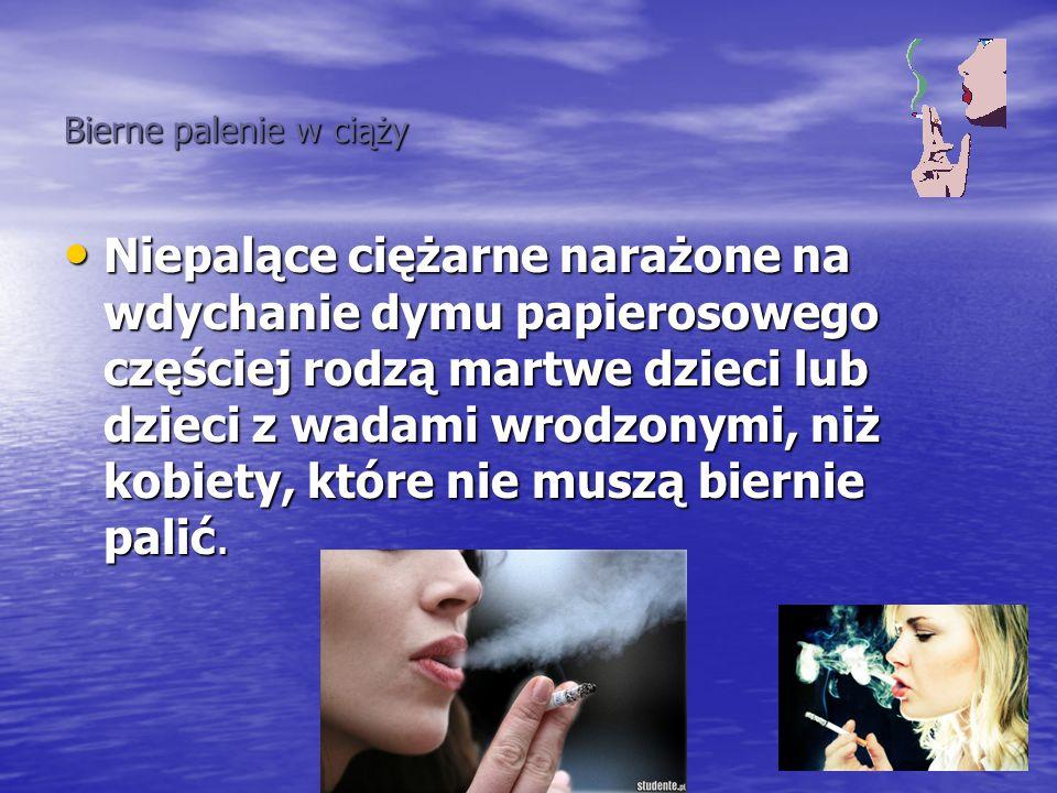Bierne palenie w ciąży