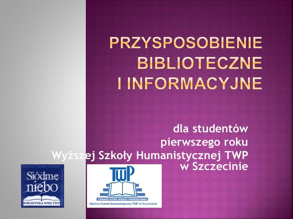 Przysposobienie biblioteczne i informacyjne