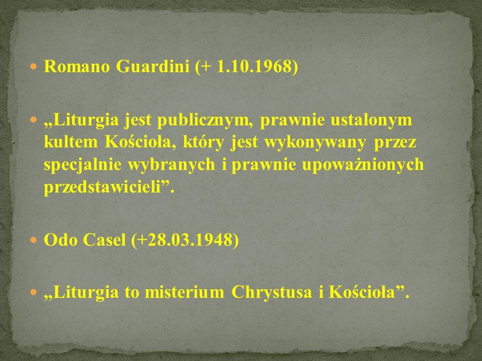 Romano Guardini (+ 1.10.1968)