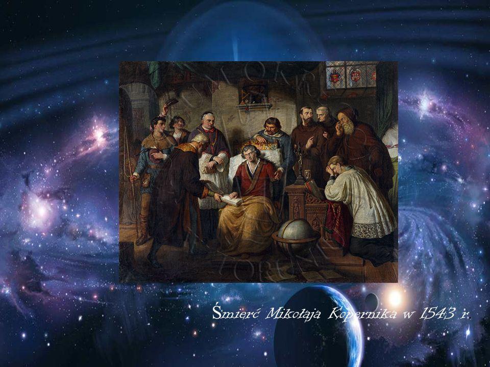 Śmierć Mikołaja Kopernika w 1543 r.