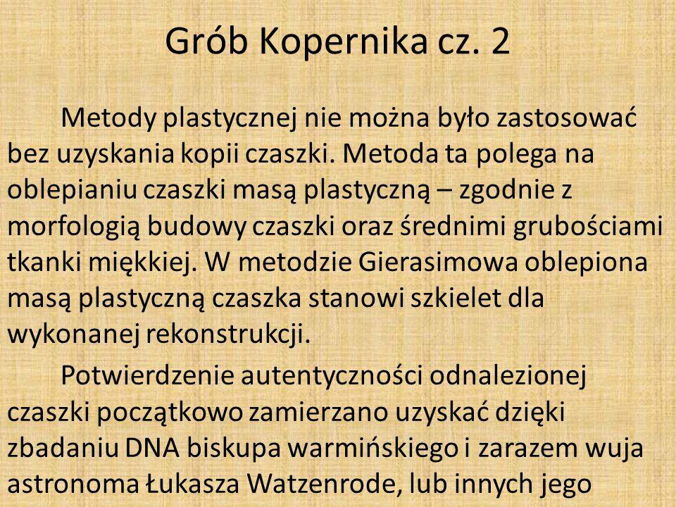 Grób Kopernika cz. 2