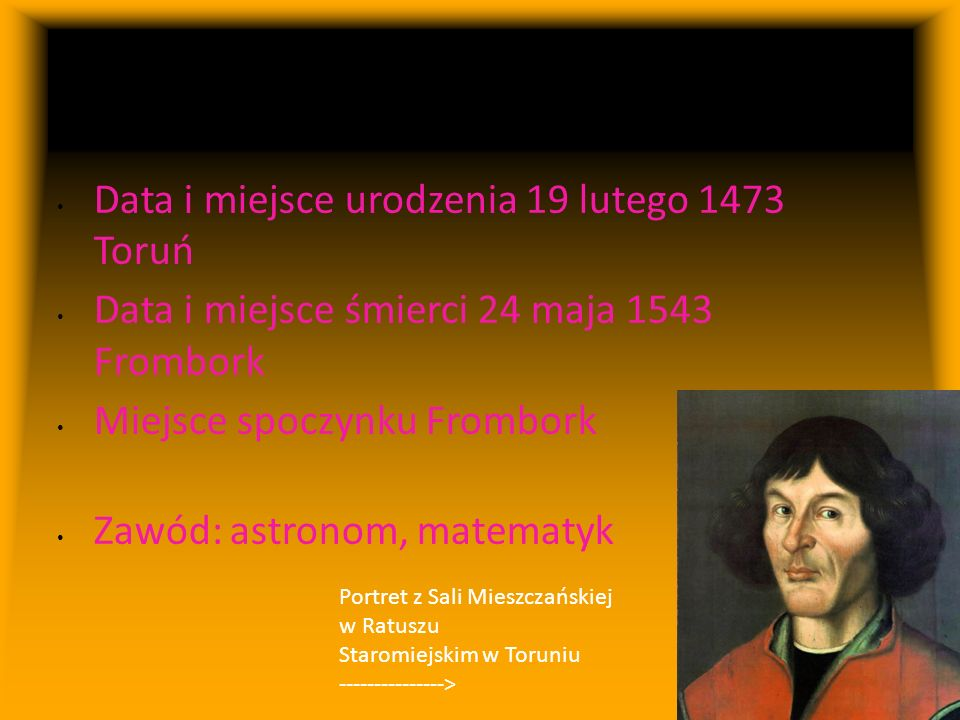 Mikołaj Kopernik ogólnie