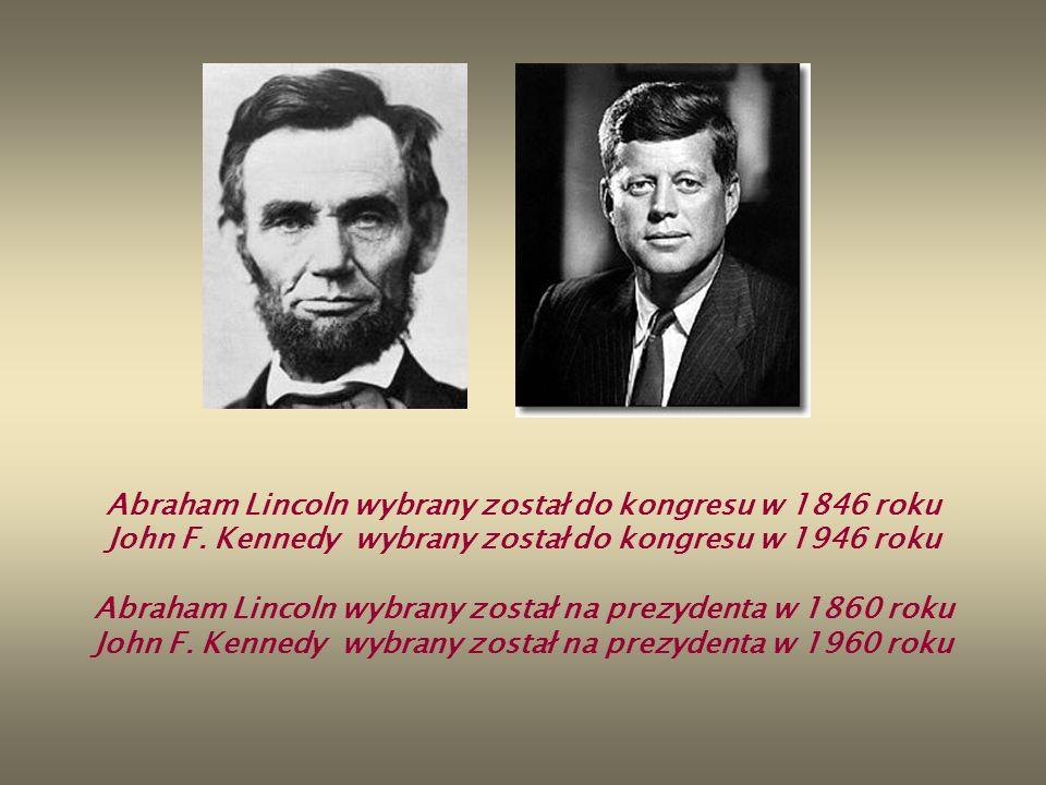 Abraham Lincoln wybrany został na prezydenta w 1860 roku