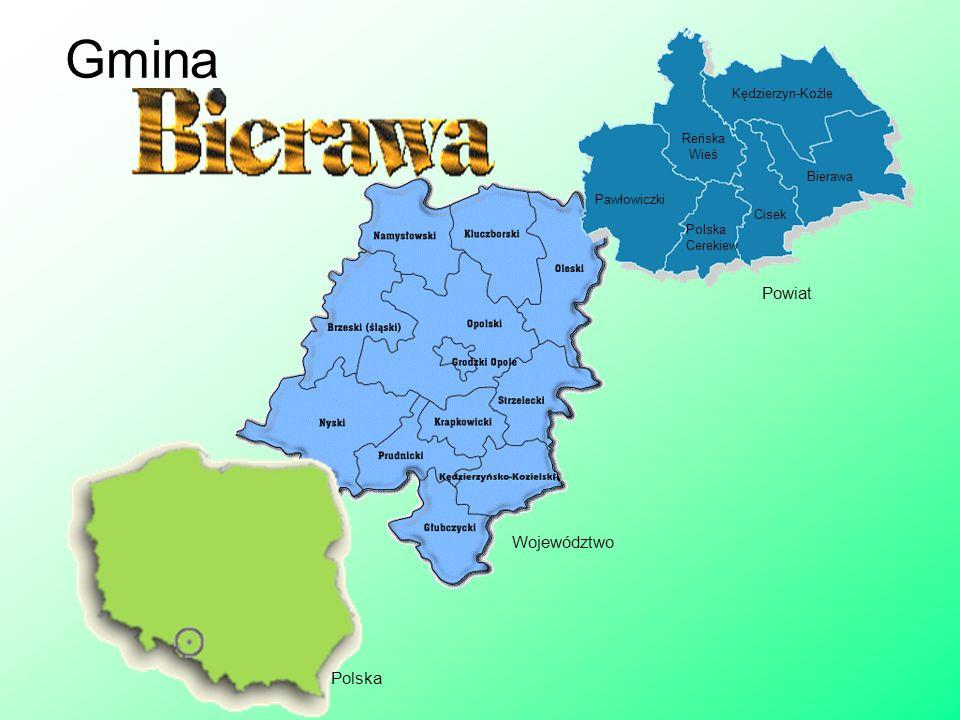 Gmina Powiat Województwo Polska Kędzierzyn-Koźle Reńska Wieś Bierawa