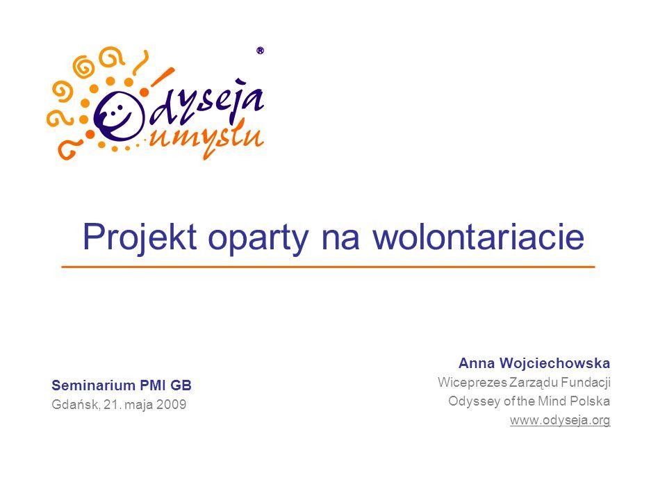 Projekt oparty na wolontariacie