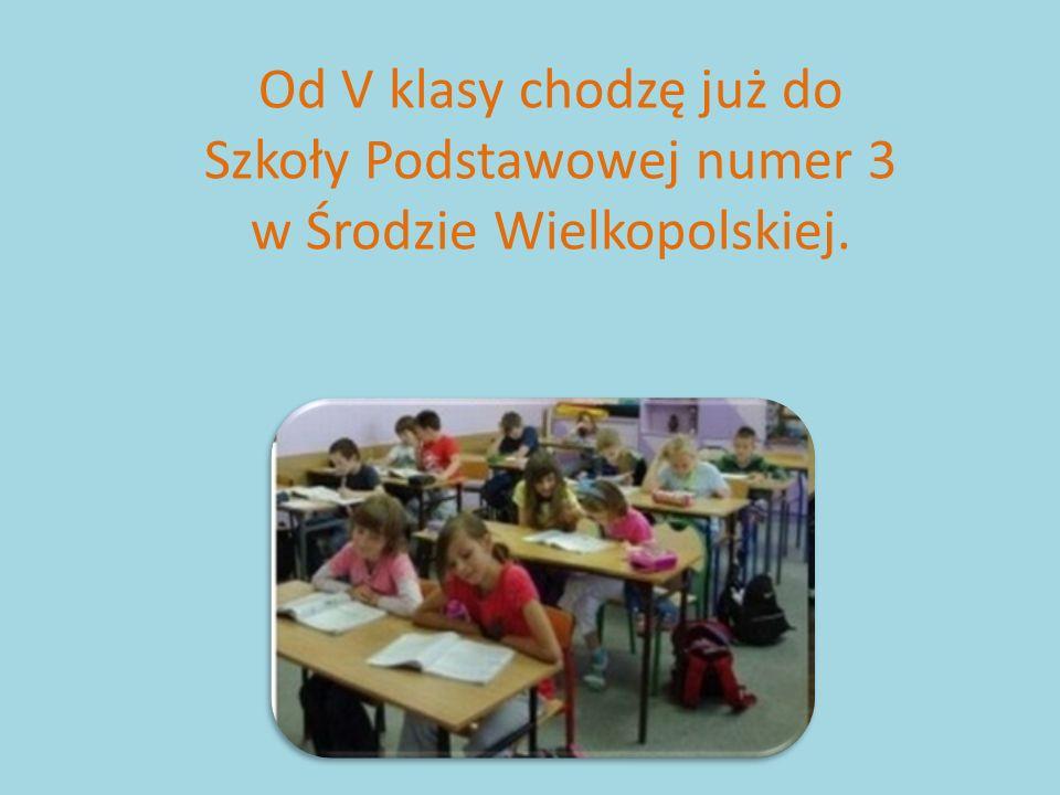 Szkoły Podstawowej numer 3 w Środzie Wielkopolskiej.