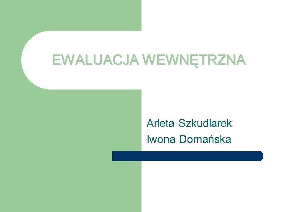 Arleta Szkudlarek Iwona Domańska