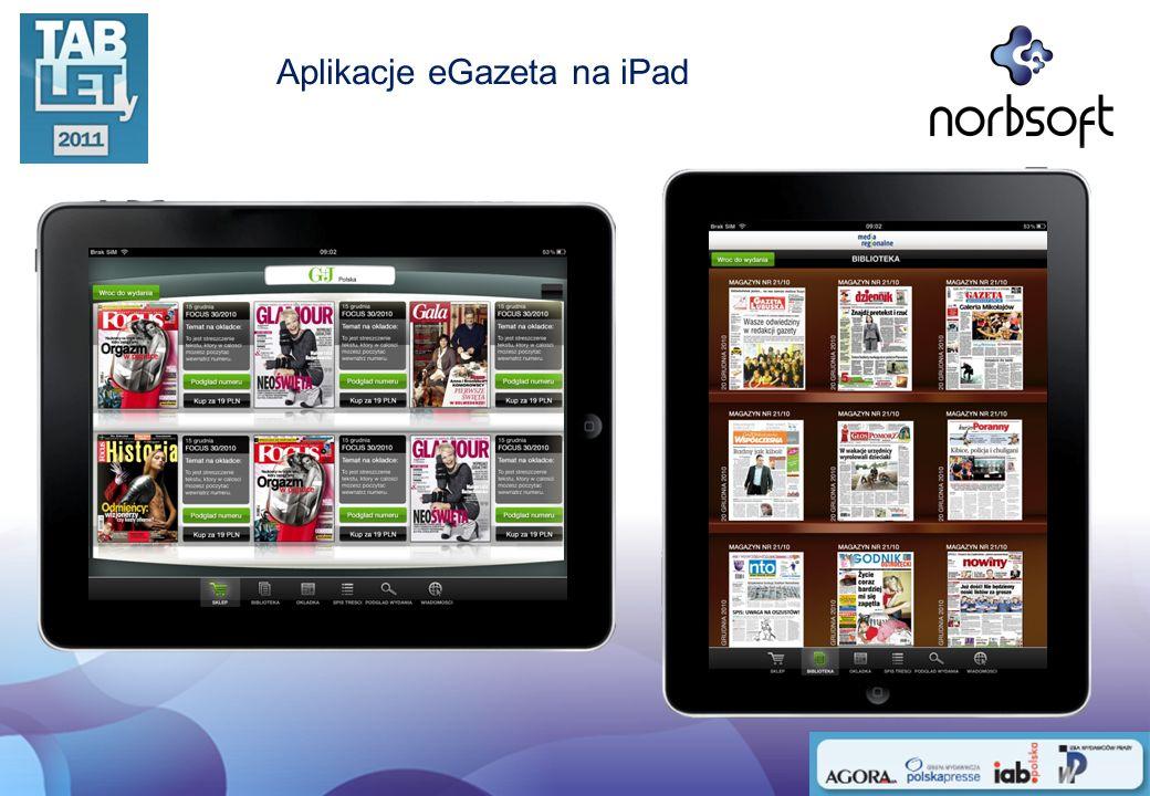 Aplikacje eGazeta na iPad