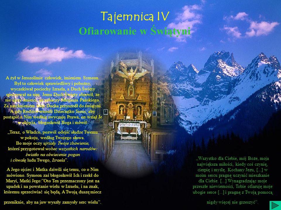 Tajemnica IV Ofiarowanie w Świątyni