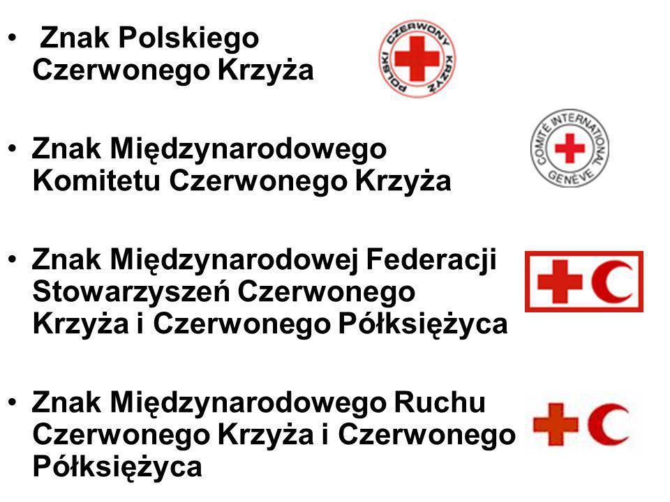 Znak Polskiego Czerwonego Krzyża