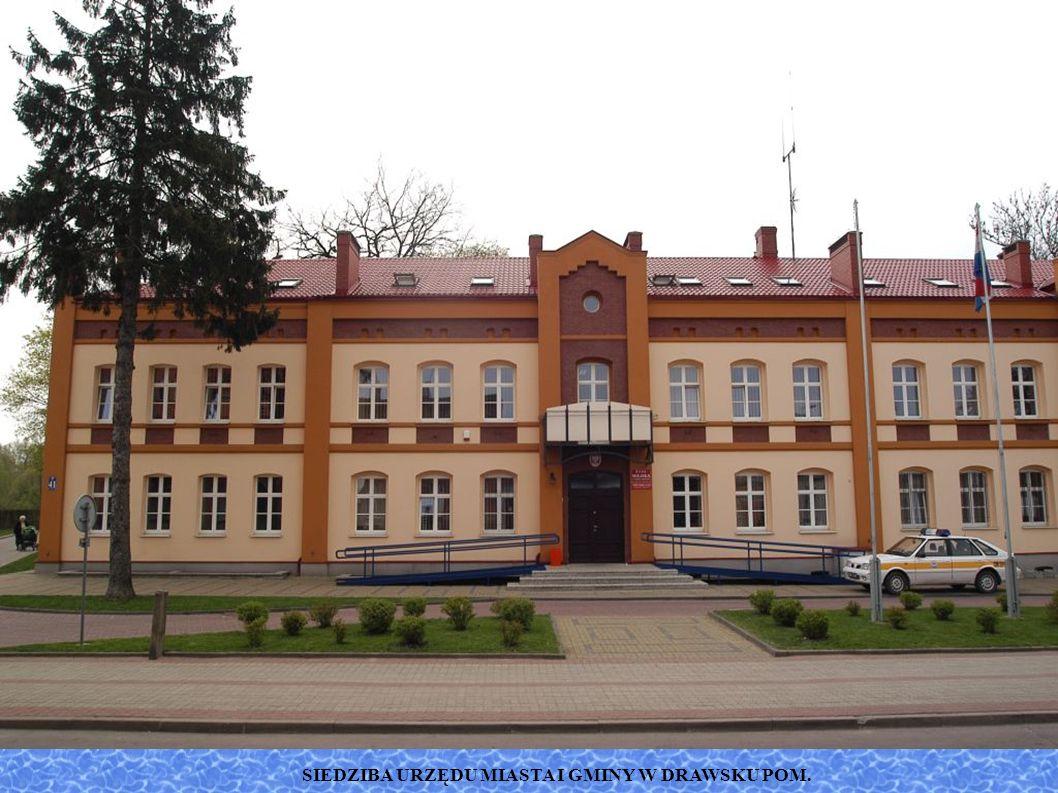 SIEDZIBA URZĘDU MIASTA I GMINY W DRAWSKU POM.