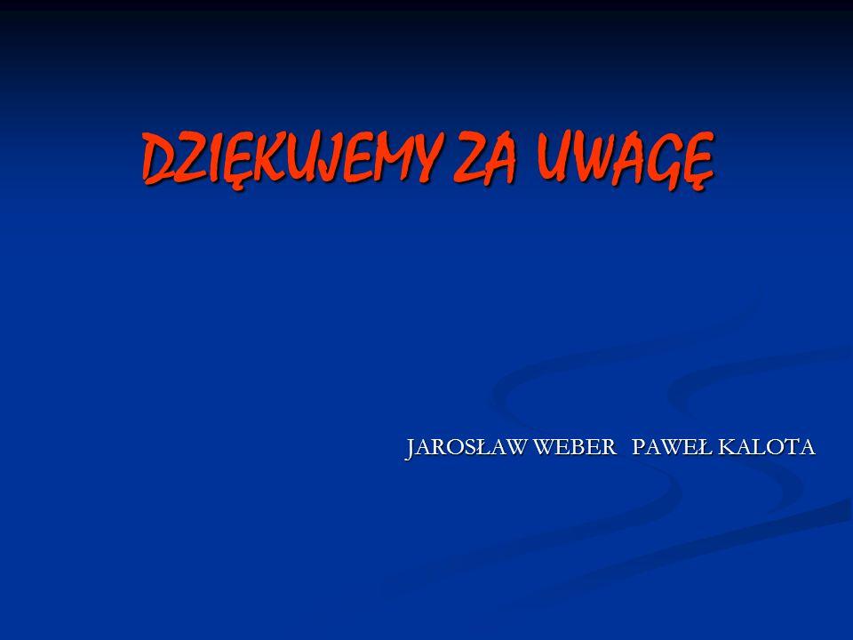 JAROSŁAW WEBER PAWEŁ KALOTA