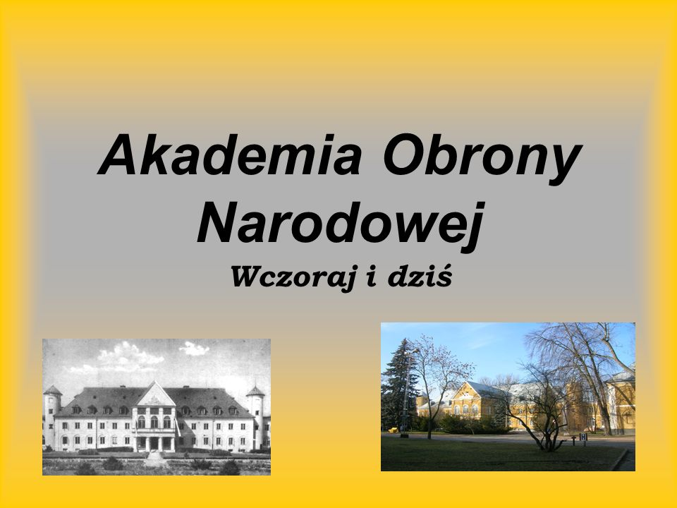 Akademia Obrony Narodowej