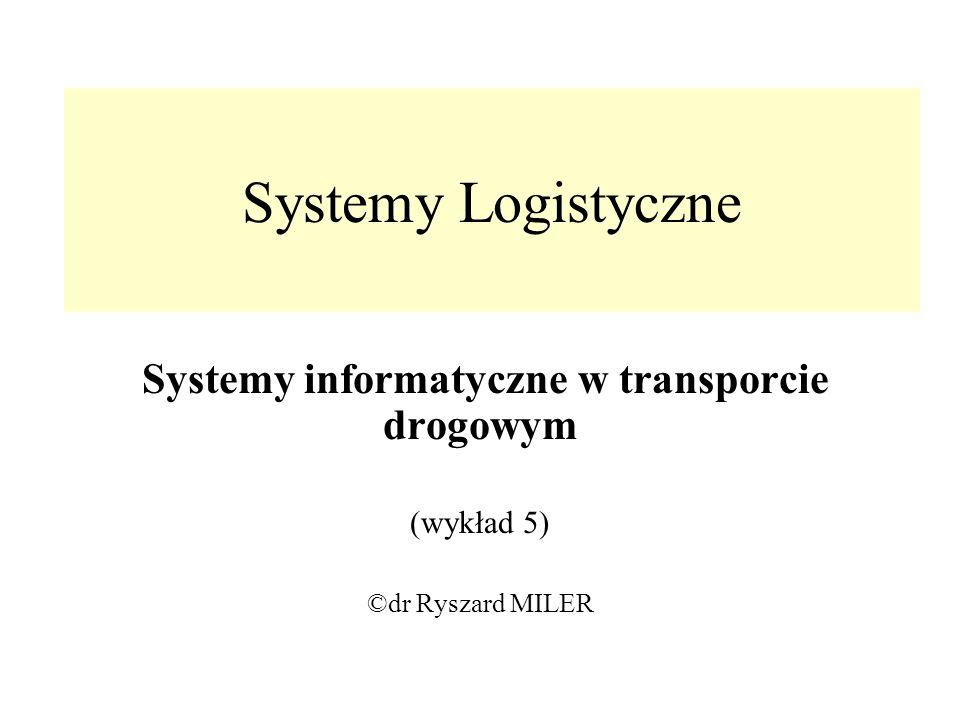 Systemy informatyczne w transporcie drogowym
