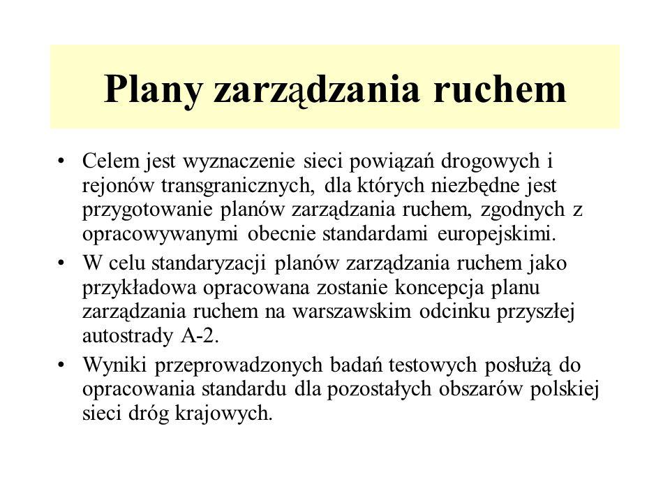 Plany zarządzania ruchem