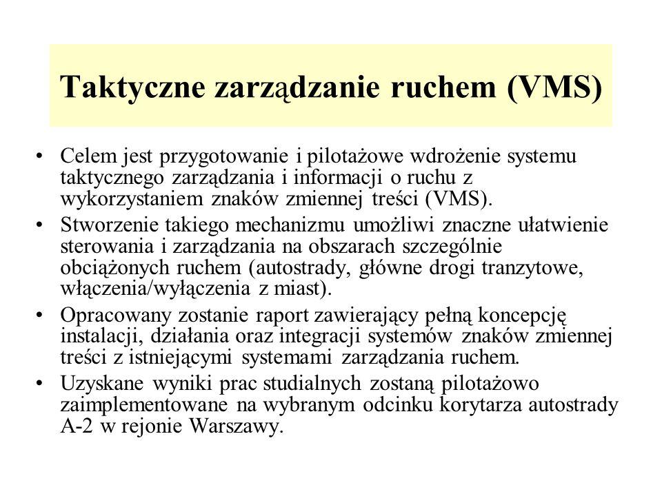 Taktyczne zarządzanie ruchem (VMS)