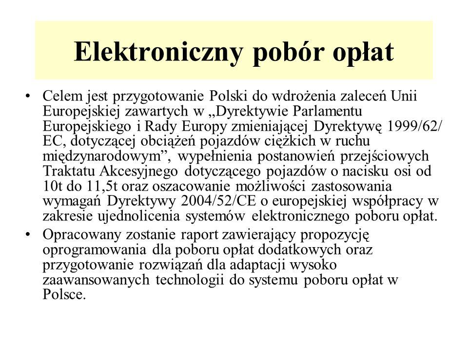 Elektroniczny pobór opłat