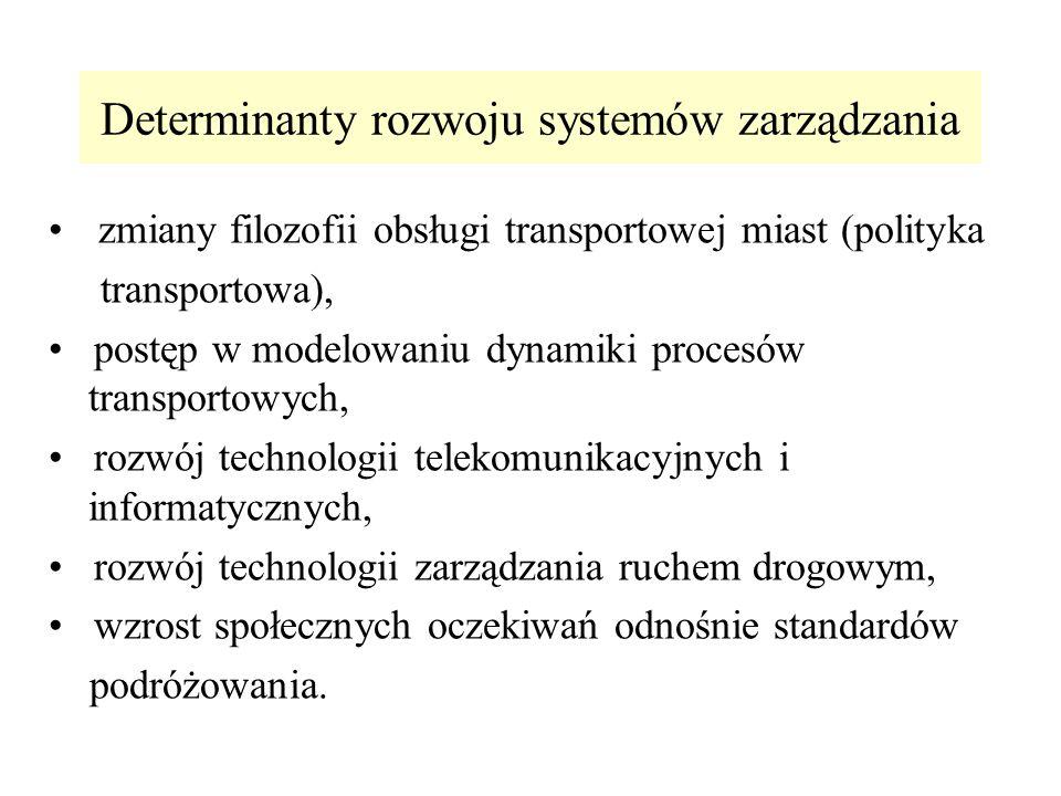 Determinanty rozwoju systemów zarządzania