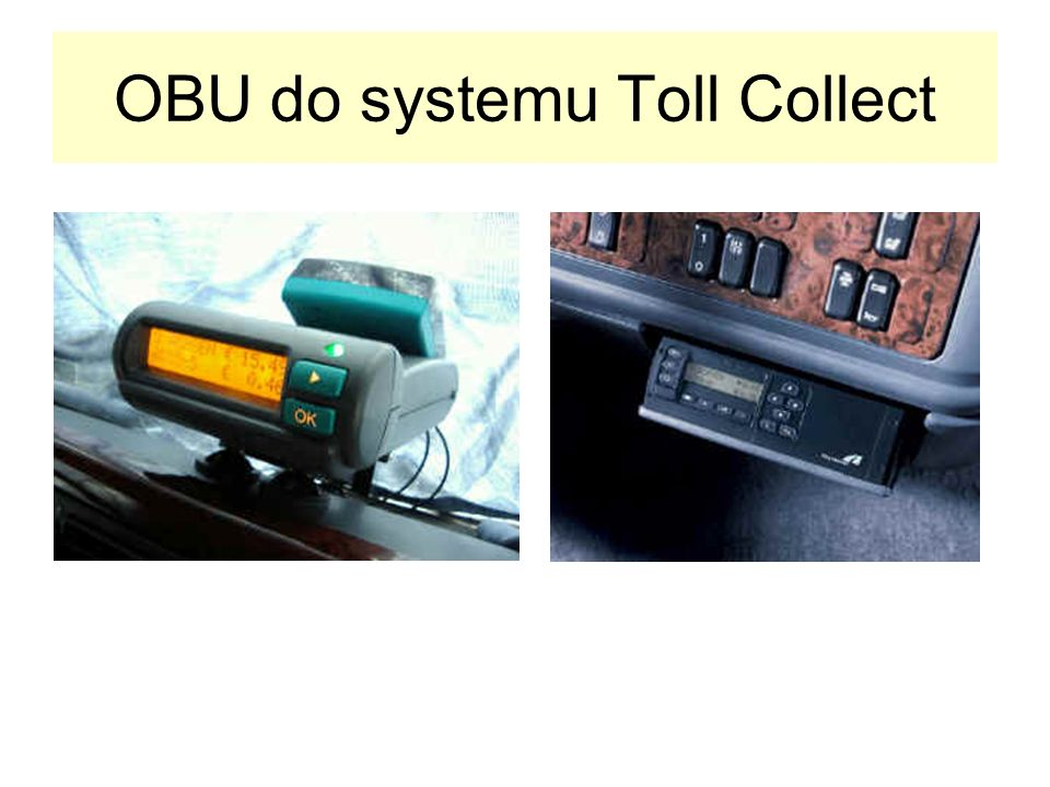 OBU do systemu Toll Collect