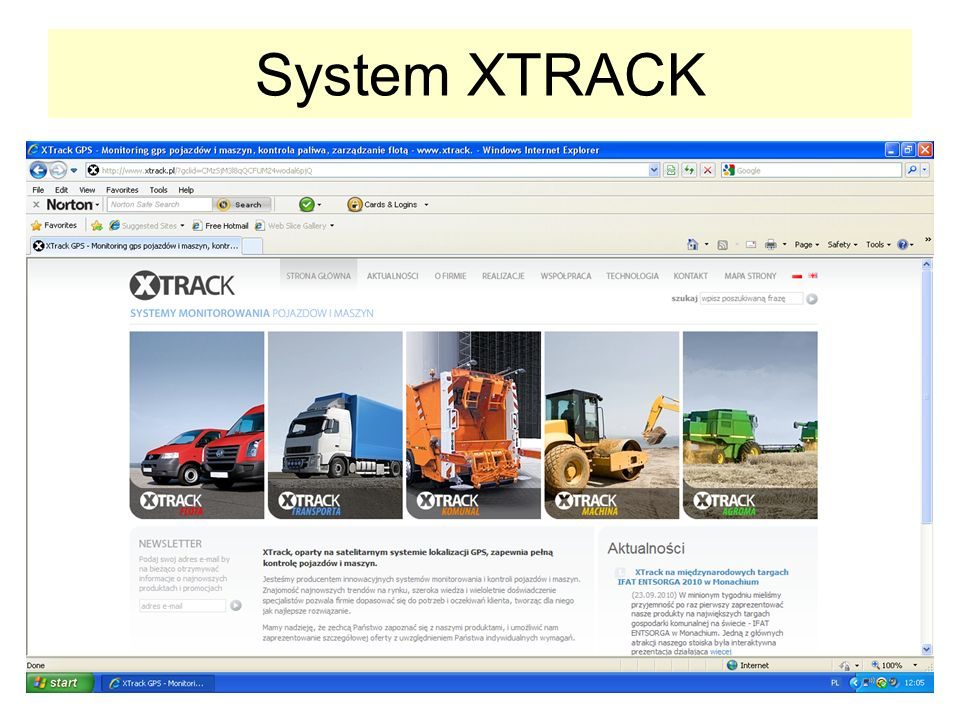 System XTRACK