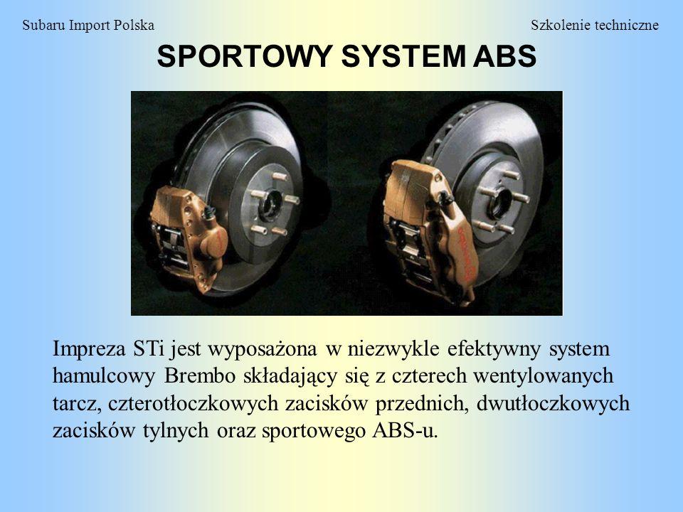 SPORTOWY SYSTEM ABS