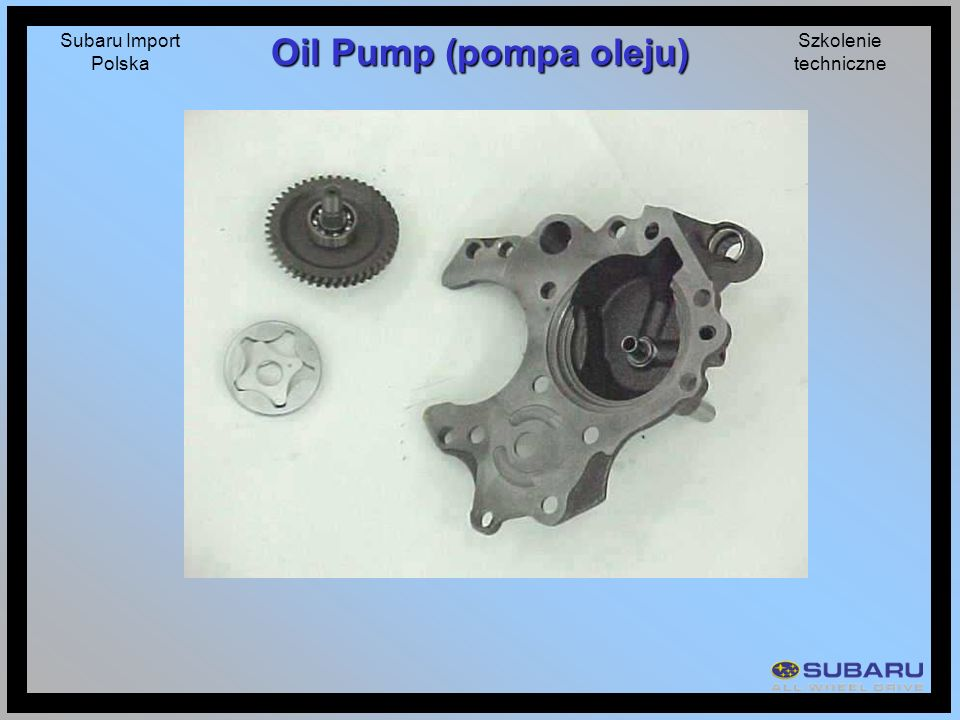 Oil Pump (pompa oleju)